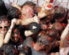 La Tomatina festival inspires a cheerfully messy Google doodle