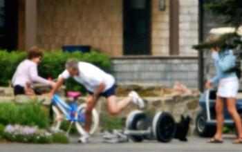 7 Segway crashes to rival Usain Bolt's