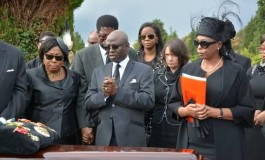 Photos from Billionaire Dehinde Fernandez's funeral in Brussel