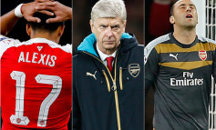 Arsene Wenger under attack after Arsenal crash to 'disastrous' Champions League defeat to Olympiakos