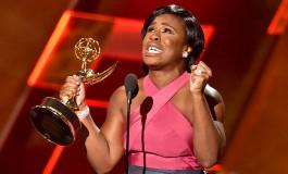 Uzo Aduba's emotional supporting actress Emmys speech was a show highlight