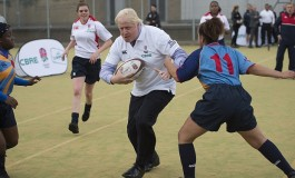 Rugby World Cup live: Boris Johnson shows off skills as giant rugby ball 'crashes' into Cardiff Castle LOL!