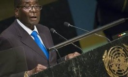 'We are not gays ' - Robert Mugabe tells UN General Assembly