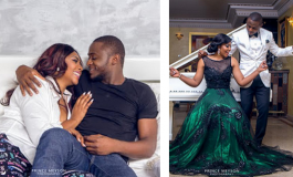 Actress Lilian Esoro & Ubi Franklin to Marry on 1st November; See Pre-Wedding Photos