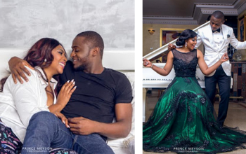 Actress Lilian Esoro & Ubi Franklin to Marry on 1st November; See Pre-Wedding Photos