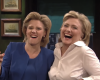 Hillary Clinton mocks Donald Trump during SNL appearance