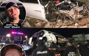 'Street Outlaws' Star Big Chief Injured In Scary Crash With Costar Brian 'Chucky' Davis