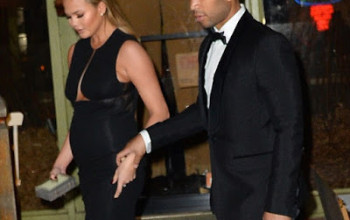 Photos: John Legend & his pregnant wife Christie Tiegen out in NY