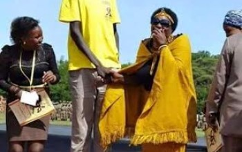 """When A Lady Looking For Husband Finally Meets """"Long John"""""""