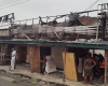 Photos: Fire destroys 200 shops in Sapele Main Market