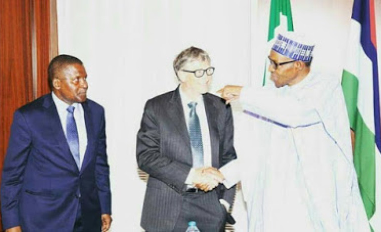 Photos: Pres. Buhari at the signing of updated Abuja Commitment on Polio Eradication