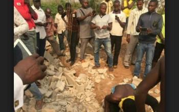 Dead Bodies Found in Foundation of Church Building in Enugu (Plus Photos)