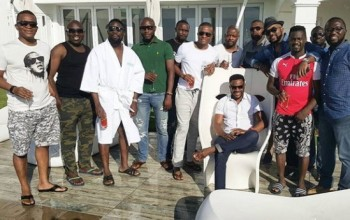 PHOTOS: Ebuka Obi's Surprise Bachelor Party in South Africa