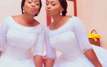 SO SWEET: Beautiful Twin Sisters Get Married Same Day