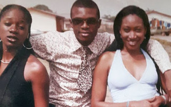 Check out this throwback pic of Nollywood stars Oge Okoye and Ken Erics
