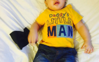 Singer Solidstar shares adorable photo of his son
