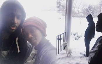 Photo: Genevieve Nnaji shares rare photo with her brother...