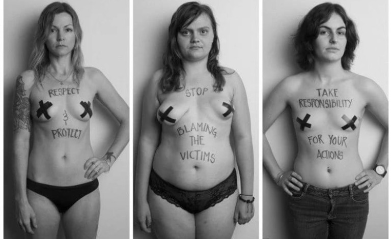 Women strip naked to stop rape and victim shaming (photos)