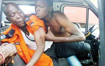 See the horrible thing traffic warden did to a motorist over N50 (photos)