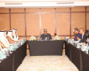 Photos: Buhari interacts with Qatar business community