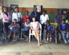 Photos: Iara Oshiomhole visits orphanage in Edo state