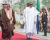 Buhari ends lesser hajj, heads to Qatar