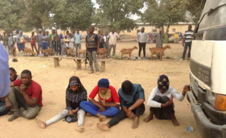 Photos: 13 Edo state indigenes arrested with fake passports in Kano