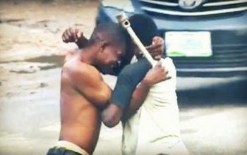 CRAZY! Man Kills His Colleague because of Girlfriend in Lagos