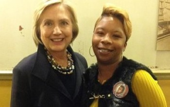 Hillary Clinton Gets Emotional Over 'Victims Of Police Violence'