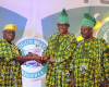 Buhari showers praises on Obasanjo at Ogun state's 40th anniversary celebration