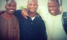 Jazzman Olofin, Dayo Adeneye and Kenny Ogungbe in a throwback photo