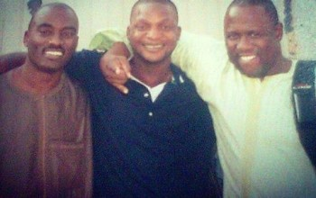 Jazzman Olofin, Dayo Adeneye and Kenny Ogungbe in a throwback photo