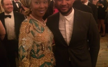 Photos: Toyin Saraki and her son, Oluwaseni join The Obamas, Usher, others at White House tribute to Ray Charles