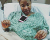 Photo of Tonto Dikeh in the Labor room