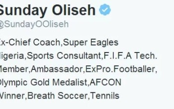 NFF blasts Oliseh over resignation