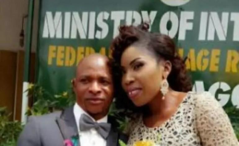 Popular Yoruba actress weds movie director in style