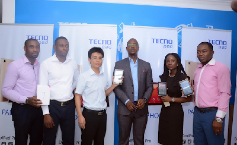 New mobile technology for hard workers; TECNO tablet division unveils latest Droipad 7C Pro, Do more with the Power of PAD + PHONE