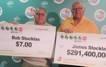 Judge wins $291 million in lottery jackpot, while his brother wins a whooping $7