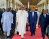 President Buhari tours the National Park and meets with Nigerian community in Malabo