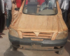 Pics: Check out this wooden car created by a man in Niger state