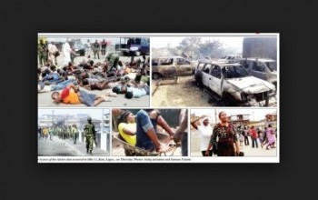 Bloody Clashes in Lagos Market; Houses Burnt, Many Killed