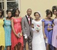 Check out this very colourful wedding