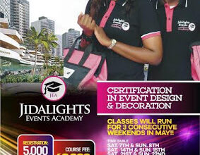 Get Certified In Event Design & Decoration At Your Convenience!