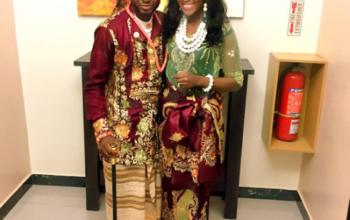 Photos from actress Ene Audu's wedding