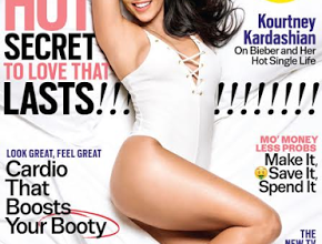 Kourtney Kardashian on Kim, Taylor Swift & her relationship with Scott Disick as she graces the cover of Cosmopolitan Mag