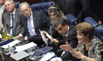 Brazil's first female President Dilma Rousseff impeached; Senate votes 61 to 20 to convict her of breaking budget laws