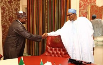 SEE who visited President Buhari this evening