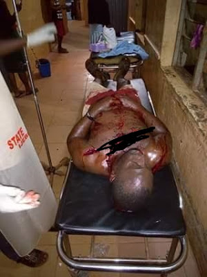 Graphic photos: After having sex, wife allegedly stabs her husband in Ogun state for marrying another woman