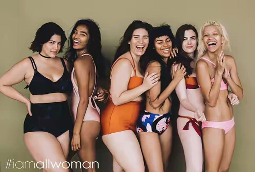 Models of all sizes team up for campaign to encourage body positivity