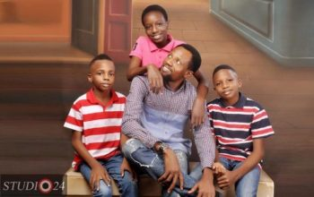 Nollywood producer, Dickson Iroegbu shares beautiful family photos